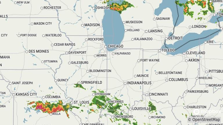 Champaign Weather Radar
